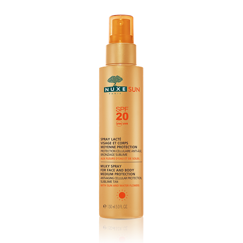 NUXE SUN SPRAY LACTE SPF20 VISAGE CORPS 150ML