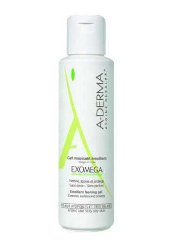 A-DERMA EXOMEGA GEL MOUSSANT 200ML