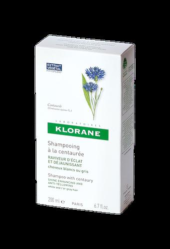 KLORANE SHAMPOOING CENTAURE ARGENT FLACON 200ML