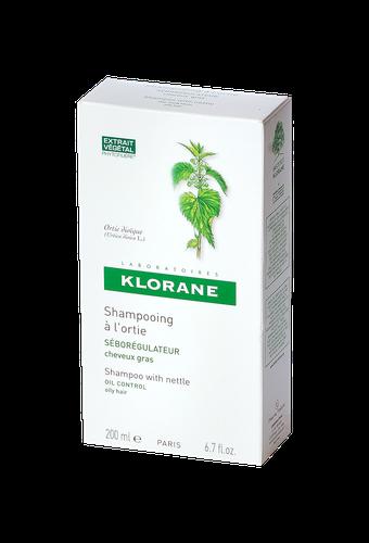 KLORANE SHAMPOOING ORTIE CHEVEUX GRAS FLACON 200ML
