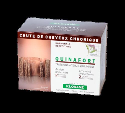 QUINAFORT CHUTE DE CHEVEUX CHRONIQUE 12X5ML