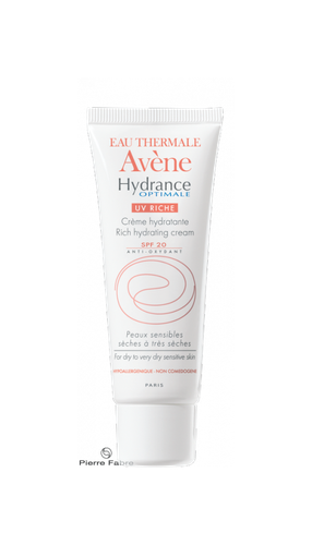 AVENE HYDRA/OPTIM UV RICHE CR 40ML