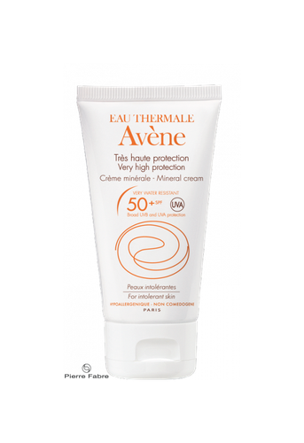 AVENE CREME SOLAIRE IP50 MINERAL 50ML