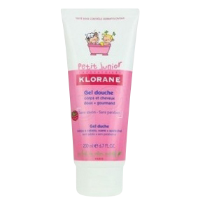 KLORANE JUNIOR GEL CORPS-CHEVEUX  FRAMB200ML