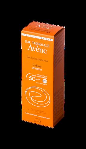 AVENE-SOLAIRE CREME 50+ SANS PARFUM TUBE 50 ML