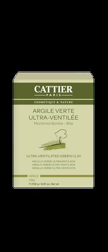 CATTIER Argile verte ultra-ventilée 250gr