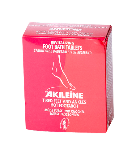AKILEINE GALETS EFFERVESCENTS REVITALISANTS BOITE 6 GALETS