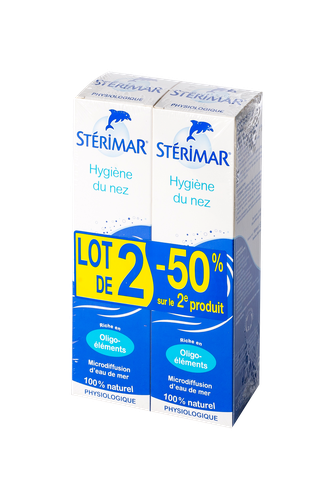STERIMAR ADULTE ENFANT 100ML X2