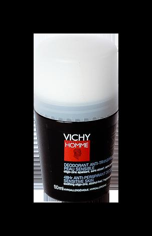 VICHY HOMME DEOD BILLE P/SENS 50ML