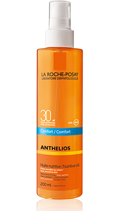 ANTHELIOS SPF 30 HUILE NUTRITIVE CONFORT 200ML