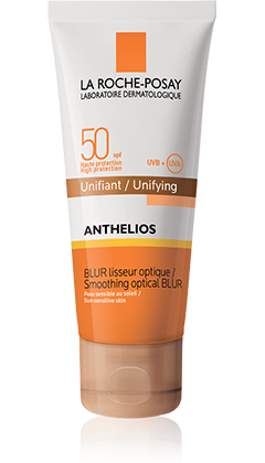 ANTHELIOS SPF 50 BLUR LISSEUR OPTIQUE UNIFIANT DORE CR 40ML