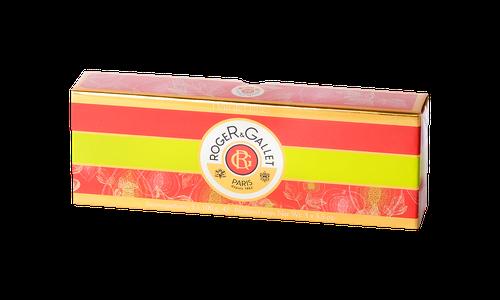 ROGER & GALLET SAVON TOILLETTE FLACON FIGUIER 100G X3