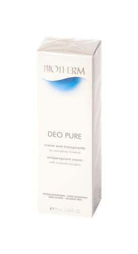 BIOTHERM DEO PURE A/TRANSP CREME