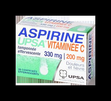 ASPIRINE VIT C UPSA 20 CPR EFFERVESCENTS