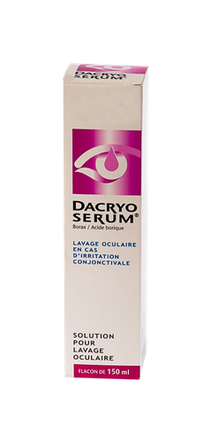 DACRYOSERUM LOT OCULAIRE 150ML