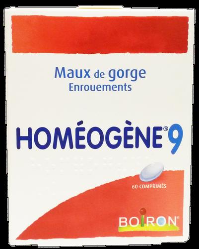 HOMEOGENE N°9 60 COMPRIMÉS