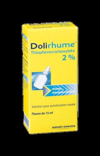 DOLIRHUME THIOPHENE2% PULV NAS15ML