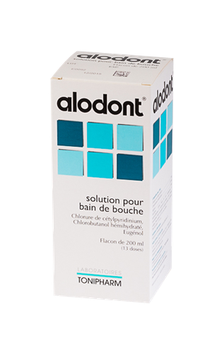 ALODONT BAIN BOUCHE 200ML