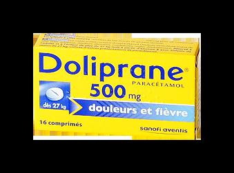 DOLIPRANE 500MG CPR 16
