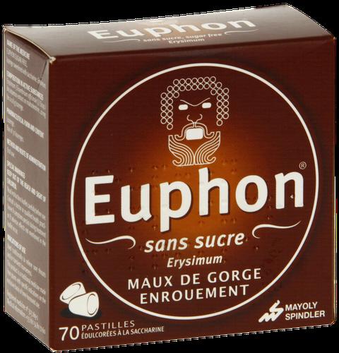 EUPHON 70 PASTILLES SANS SUCRE