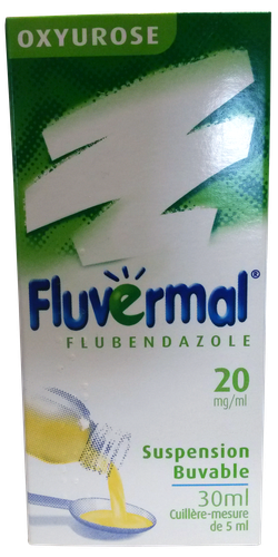 FLUVERMAL 2% SUSP BUV 30ML