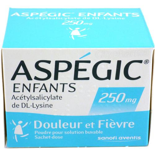 ASPEGIC 250MG ENFANT SACHET 20