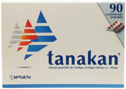 TANAKAN 40MG CPR 90