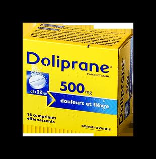 DOLIPRANE 500MG 16COMPRIMÉS EFFERVESCENTS