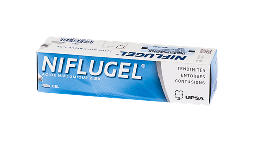 NIFLUGEL 2,5% GEL TUBE 60G