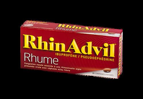 RHINADVIL RHUME IBUPR/PSEUDO CPR20