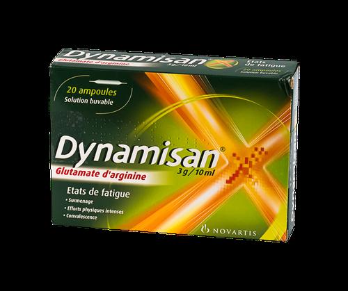 DYNAMISAN 3G/10ML 20 AMPOULES BUVABLES