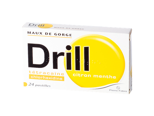 DRILL CITRON MENTHE PAST 24