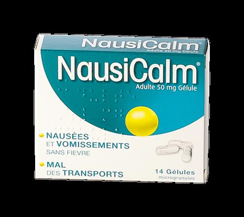 NAUSICALM 50MG AD GELULE 14