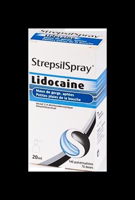 STREPSILSPRAY LIDOCAINE FL 20ML