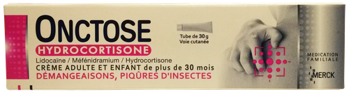 ONCTOSE HYDROCORTISONE CR TUB 30G