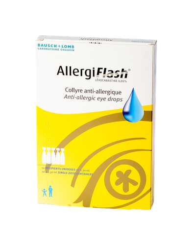 ALLERGIFLASH 0,05% COLLYRE UNIDOSE