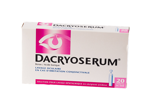 DACRYOSERUM LOTION OCULAIRE 20 DOSES