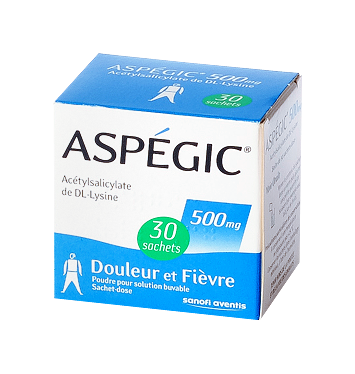 ASPEGIC 500MG SACHET 30