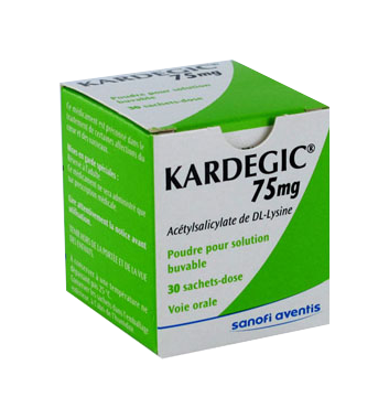 KARDEGIC 75MG 30SACHETS