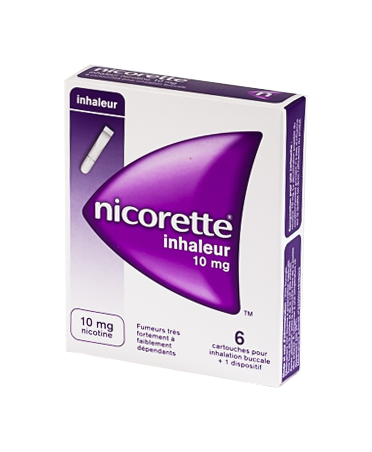 NICORETTE 10MG 6 INHALEURS