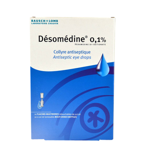 DESOMEDINE COLLYRE 10 UNIDOSES 0,6ML