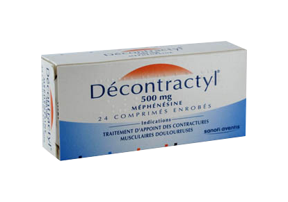 DECONTRACTYL 500MG 24 COMPRIMES