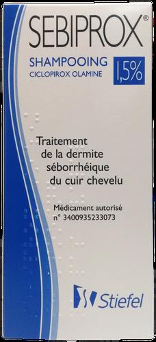 SEBIPROX 1,5% SHAMP 100ML