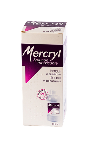 MERCRYL SOL MOUSSANTE FL 300ML