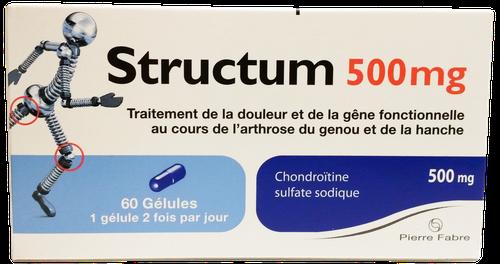 STRUCTUM 500MG GELULE 60