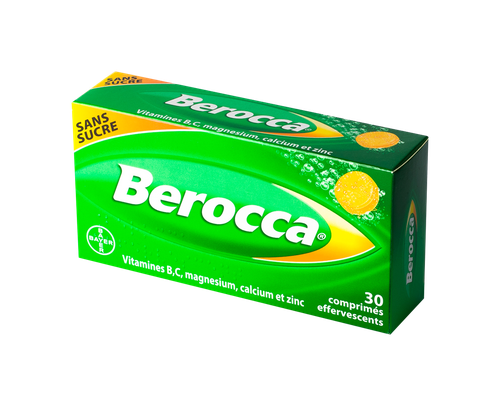 BEROCCA 30 CPR EFFERVESCENTS S/S