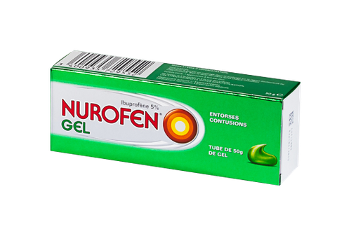 NUROFEN 5% GEL TUBE 50G