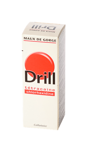 DRILL MAUX GORGE COLLUTOIRE 40ML