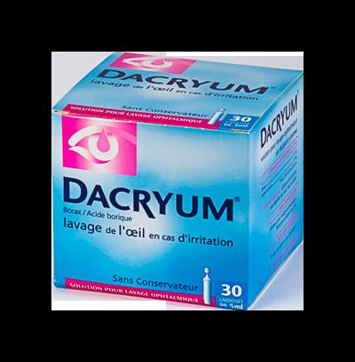 DACRYUM LAVAGE OPHTA 30 UNIDOSES