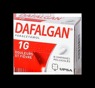 DAFALGAN 1G 8COMPRIMÉS